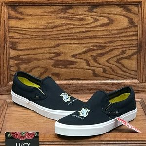 Vans Classic Slip On Harry Potter Hufflepuff Shoes
